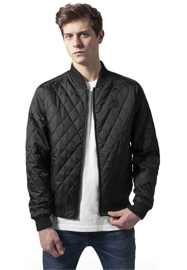 Diamond Quilt Honeycomb Jacket
