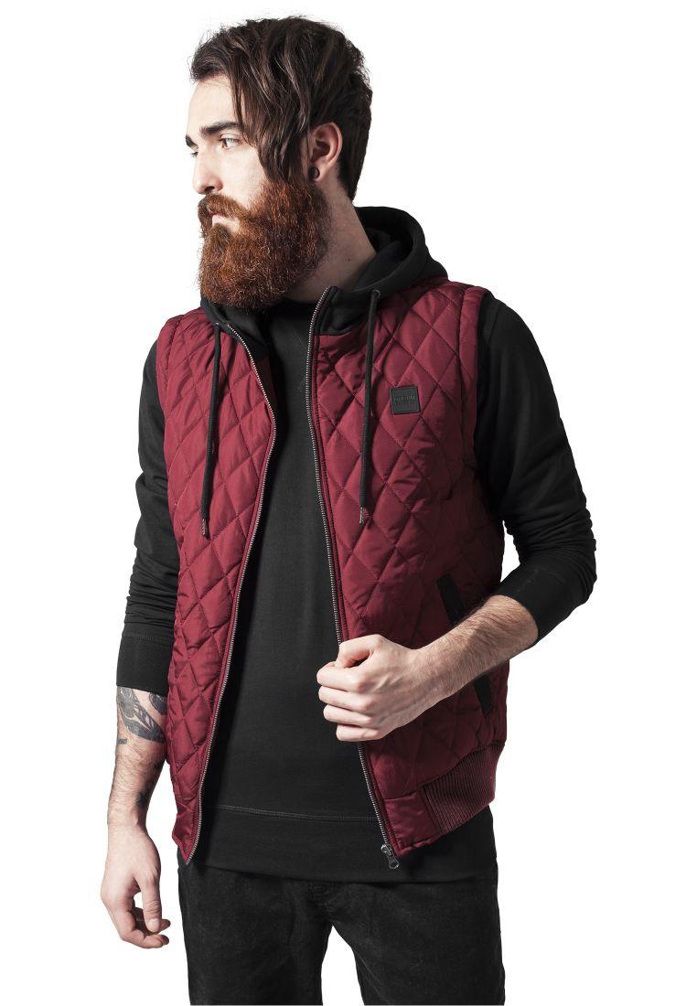 Diamond Quilted Hooded Vest - LIIVIT - TTUTB1261 - 1