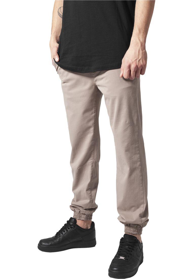 Stretch Twill Jogging Pants - HOUSUT - TTUTB1266 - 1