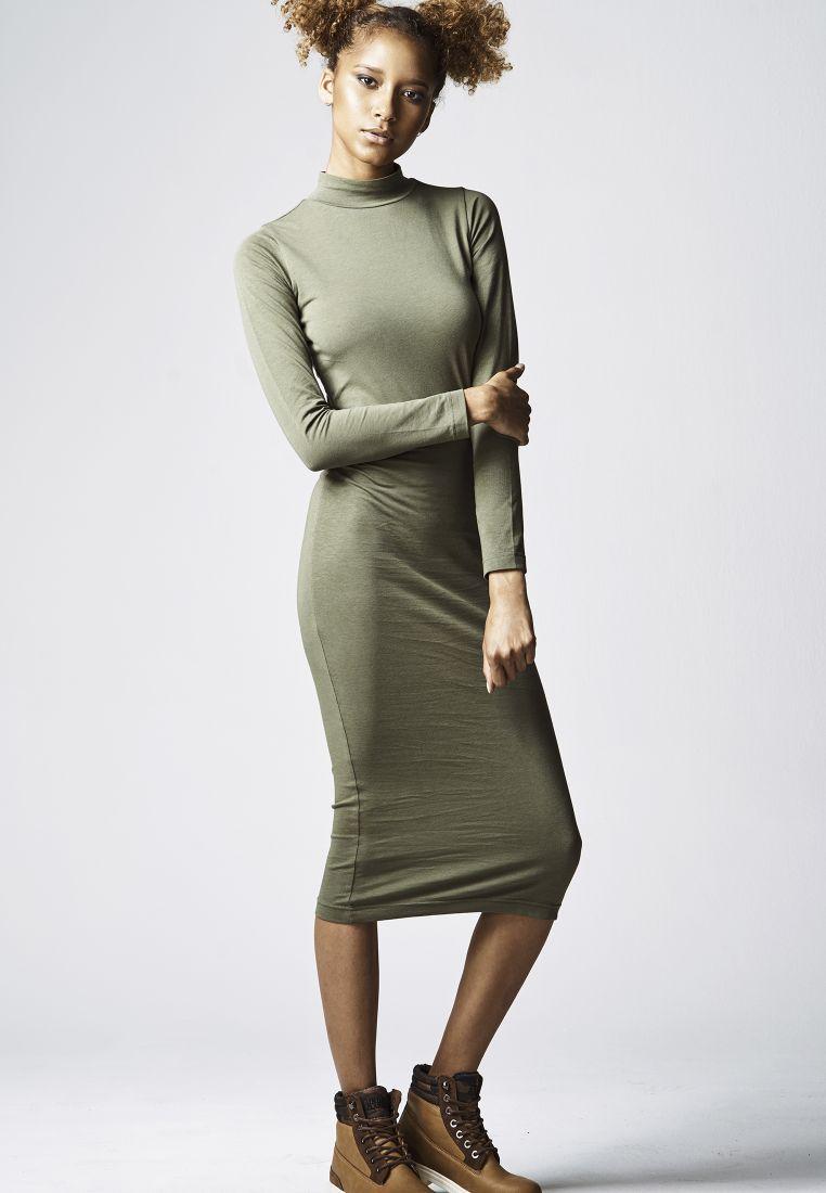 Ladies Turtleneck L/S Dress - HAMEET, SHORTSIT, MEKOT - TTUTB1296 - 1