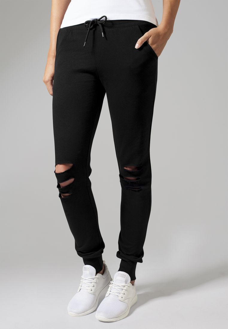 Ladies Cutted Terry Pants - COLLEGE HOUSUT - TTUTB1304 - 1