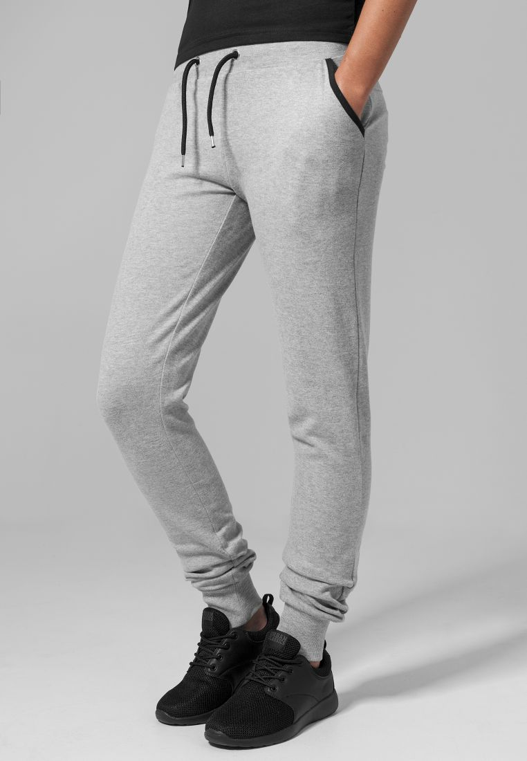 Ladies Fitted Athletic Pants - COLLEGE HOUSUT - TTUTB1326 - 1