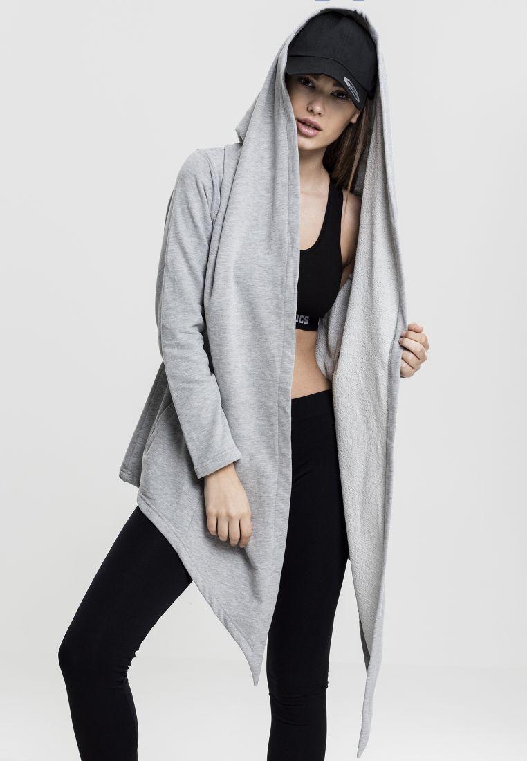 Ladies Hooded Sweat Cardigan - NEULEET - TTUTB1330 - 1