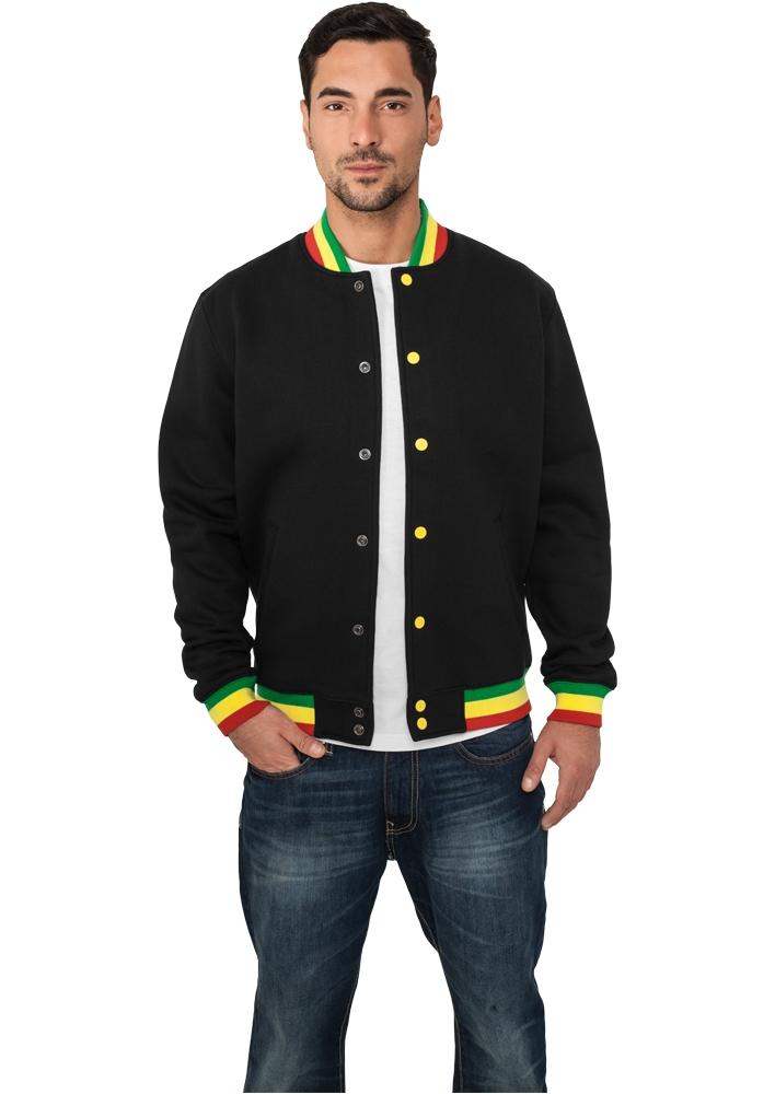 Contrast College Sweatjacket - COLLEGE TAKIT - TTUTB133 - 1