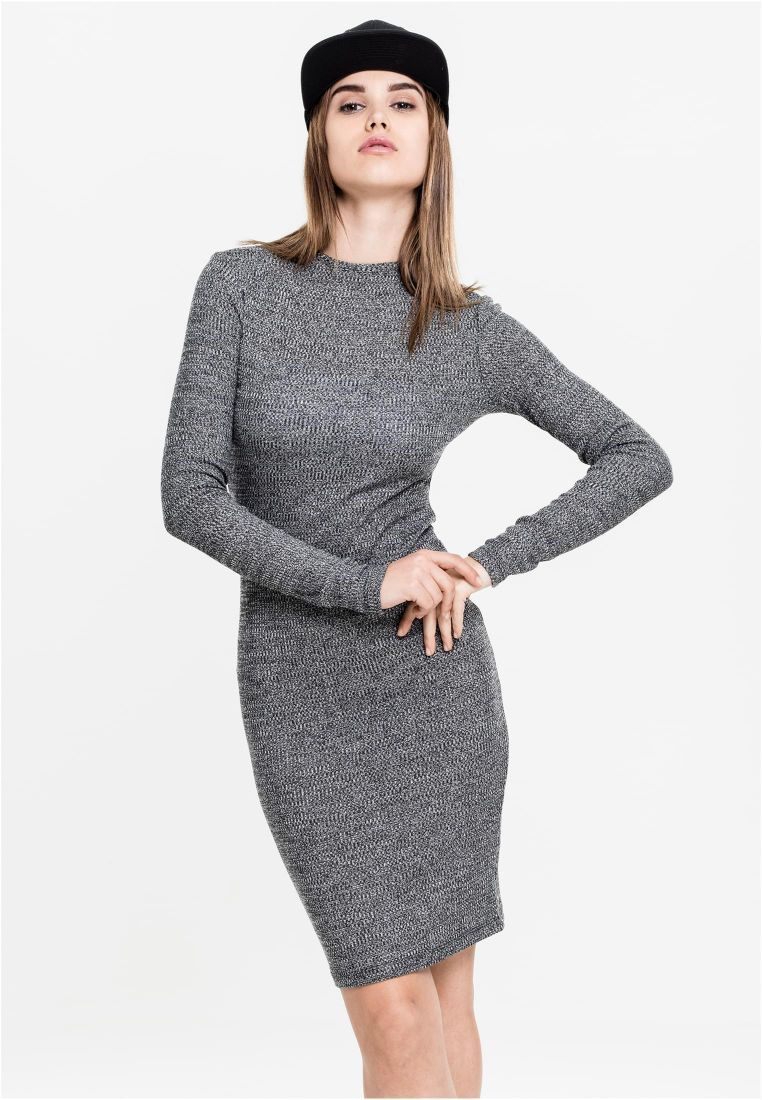 Ladies Rib Dress - HAMEET, SHORTSIT, MEKOT - TTUTB1340 - 1
