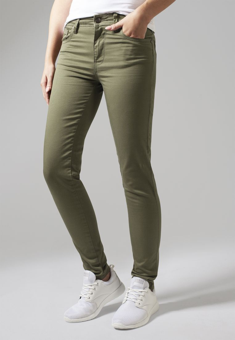 Ladies Skinny Pants - COLLEGE HOUSUT - TTUTB1361 - 1