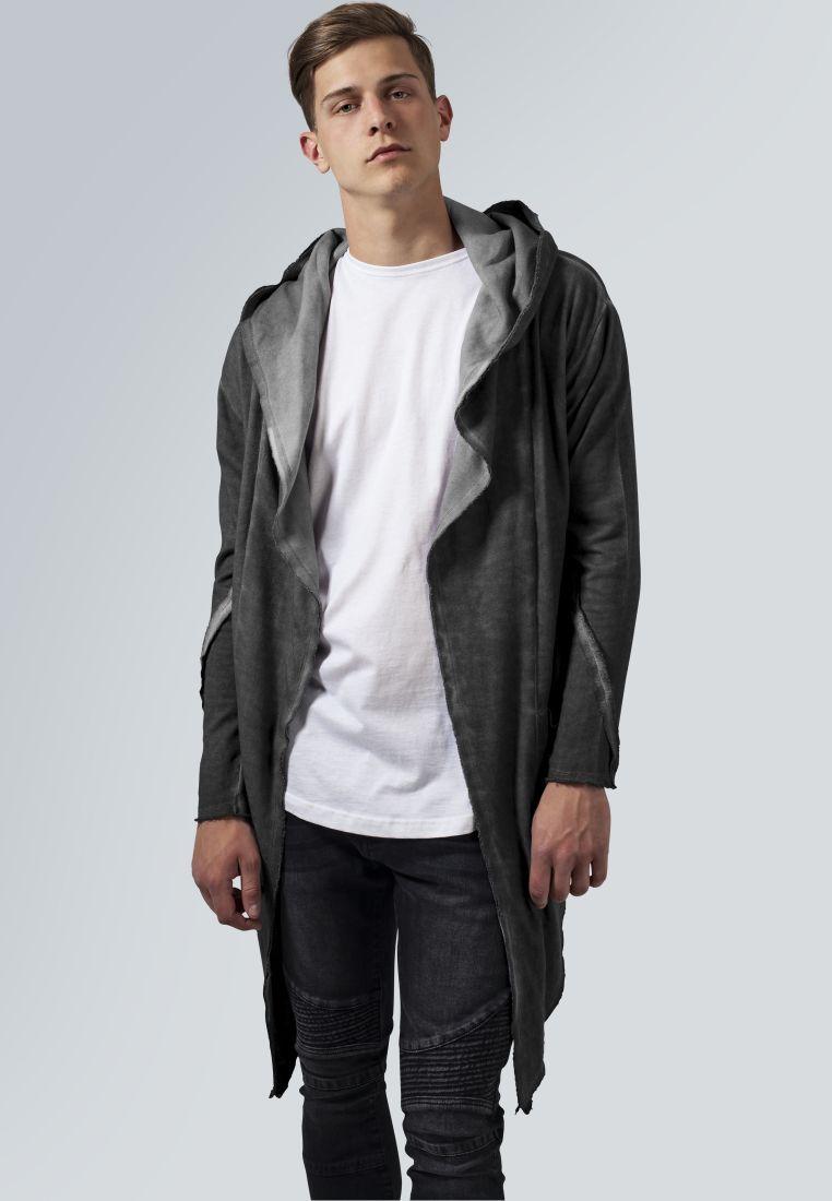 Cold Dye Hooded Cardigan - COLLEGE TAKIT - TTUTB1378 - 1