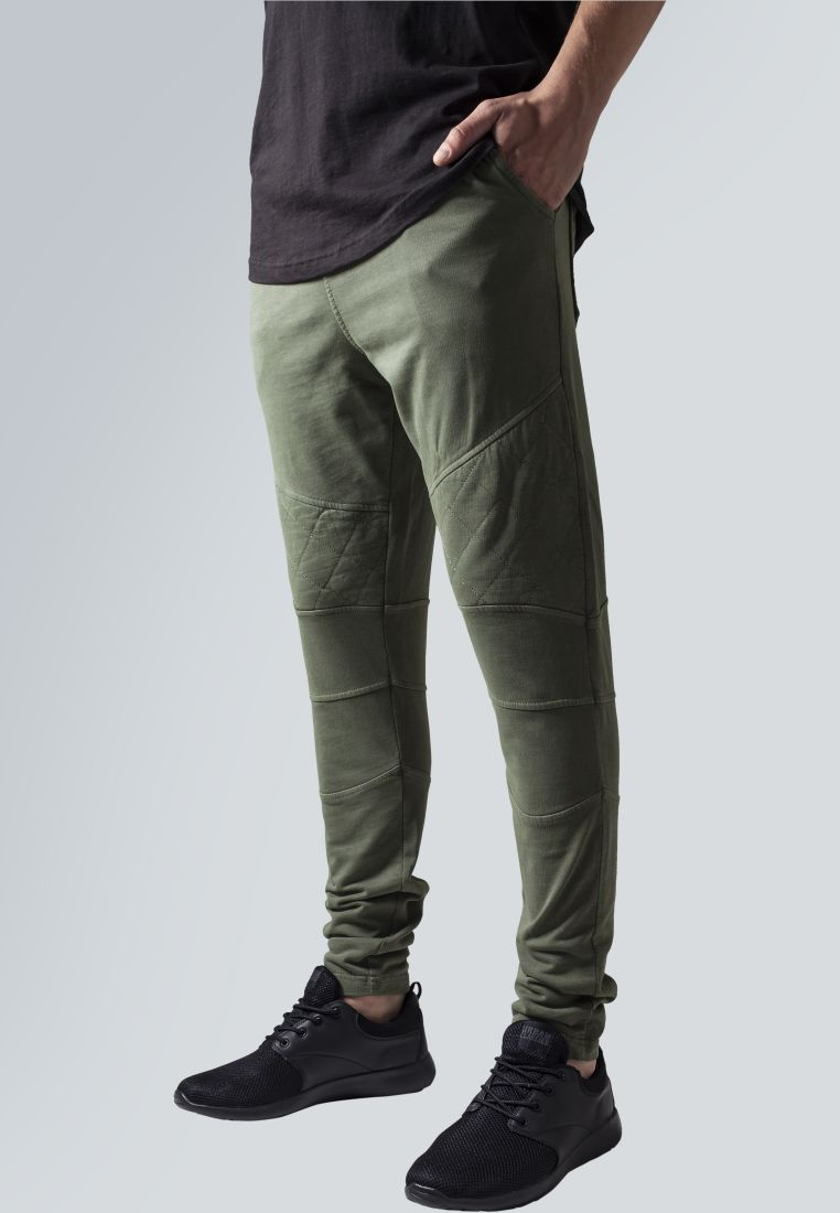 Diamond Stitched Pants - COLLEGE HOUSUT - TTUTB1380 - 1