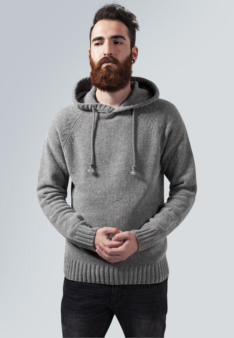 Chenille Hooded Sweater - HUPPARIT - TTUTB1431 - 1