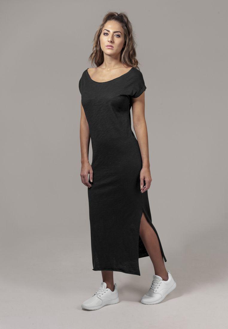 Ladies Slub Long Dress - HAMEET, SHORTSIT, MEKOT - TTUTB1513 - 1