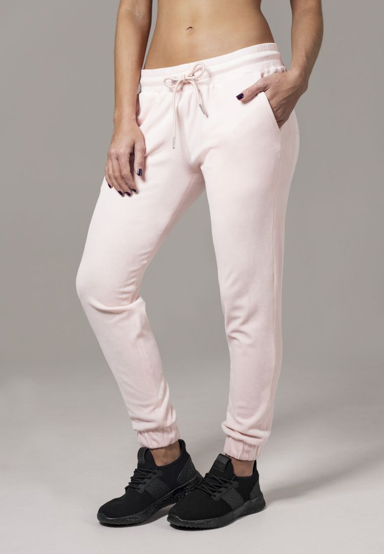 Ladies Velvet Pants - COLLEGE HOUSUT - TTUTB1515 - 1