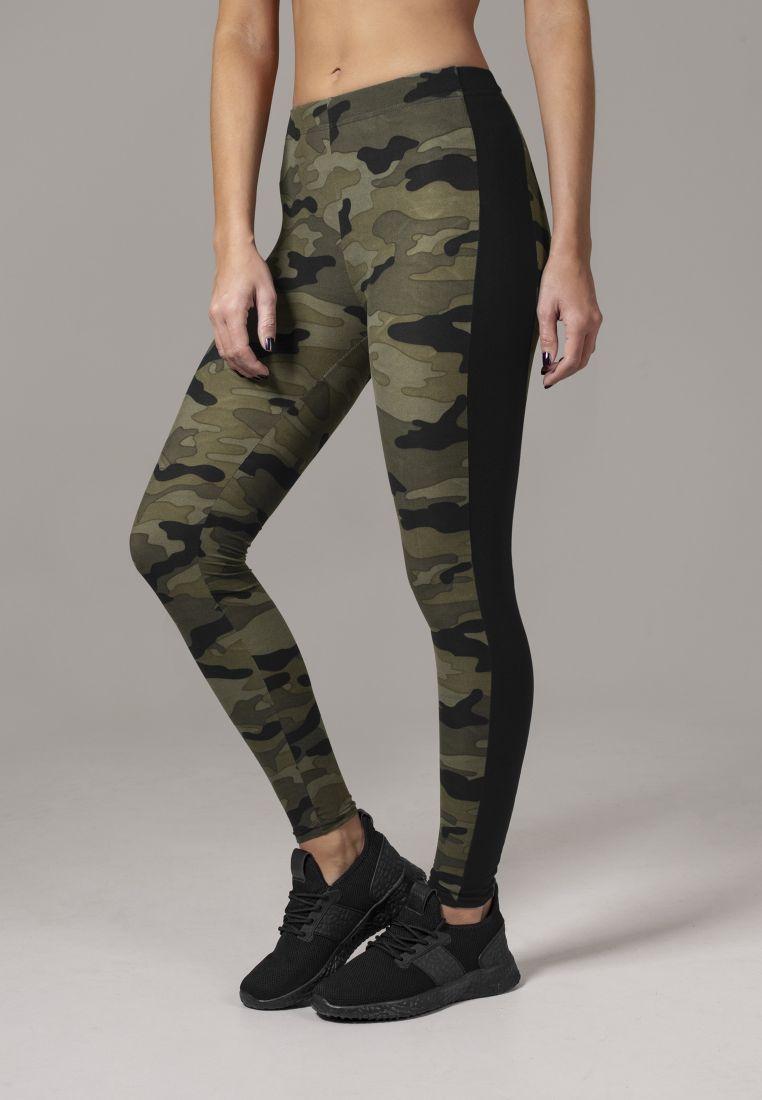 Ladies Camo Stripe Leggings - TILAUSTUOTTEET - TTUTB1530 - 1