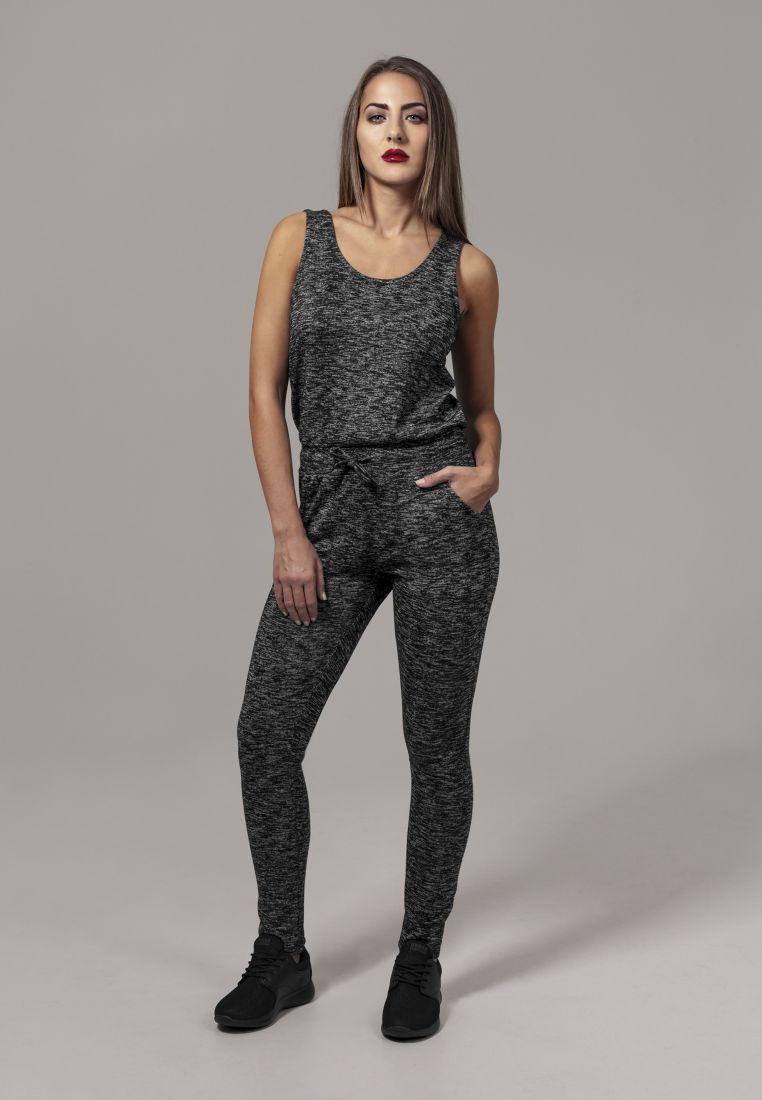 Ladies Melange Jumpsuit - ASUT - TTUTB1533 - 1