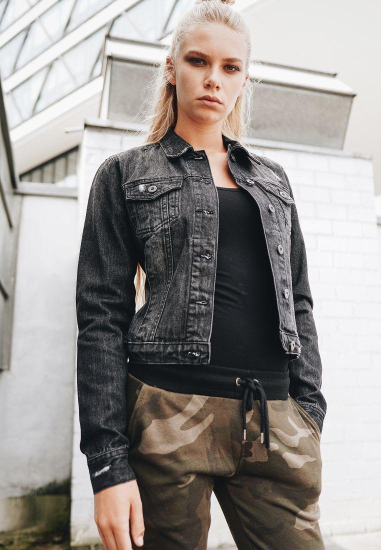 Ladies Denim Jacket - TAKIT - TTUTB1542 - 1