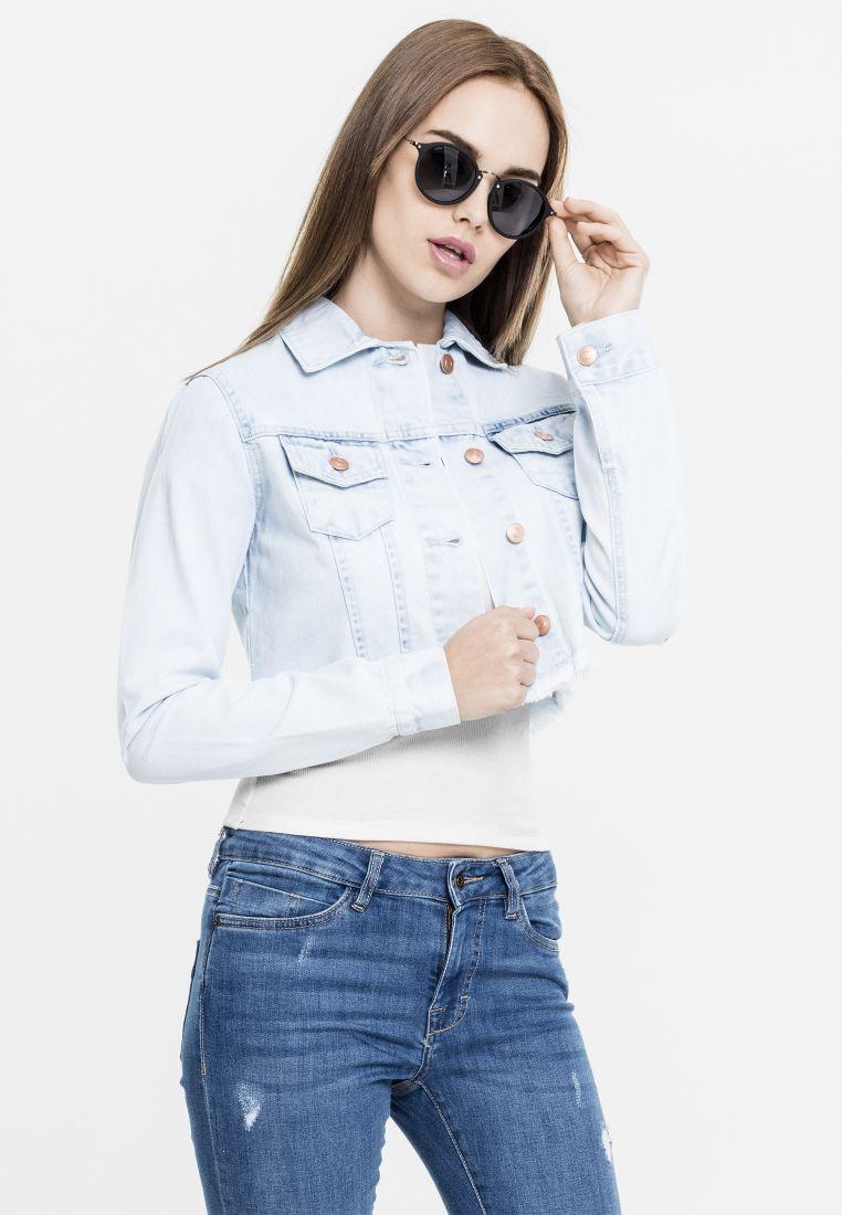 Ladies Short Denim Jacket