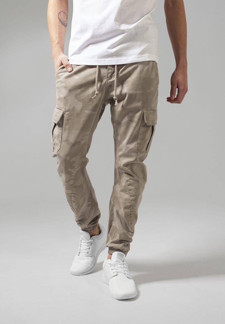 Camo Cargo Jogging Pants
