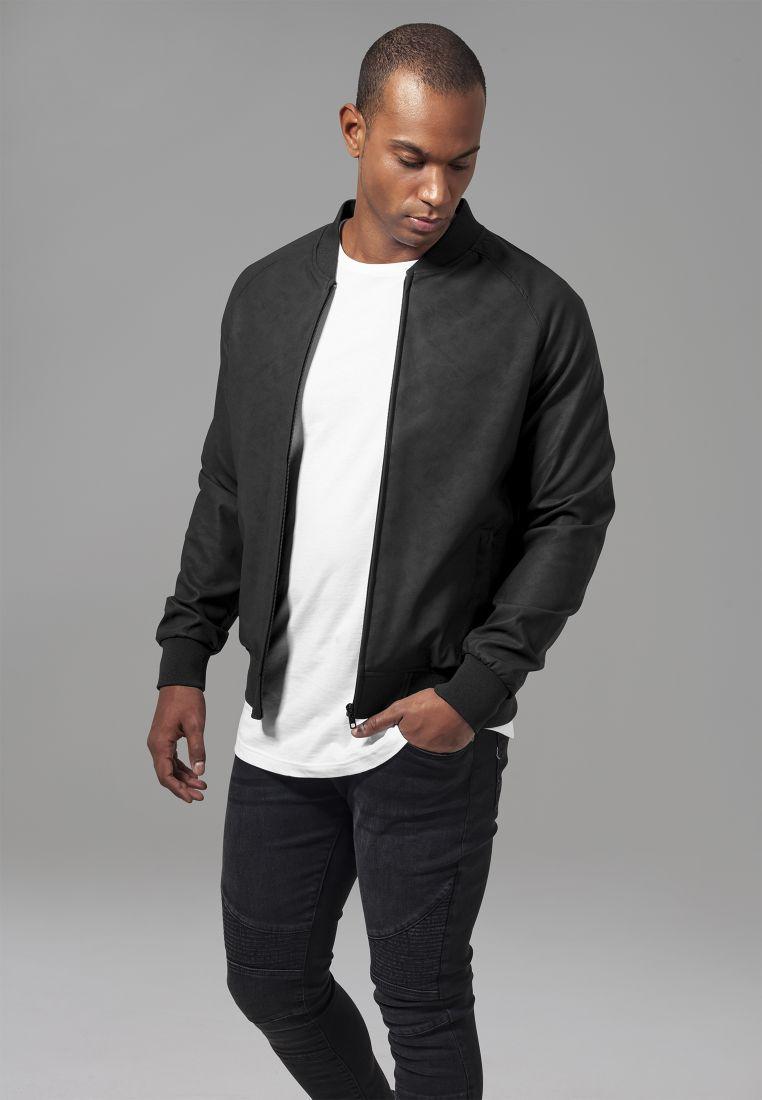 Imitation Leather Raglan Blouson - TAKIT - TTUTB1622 - 1