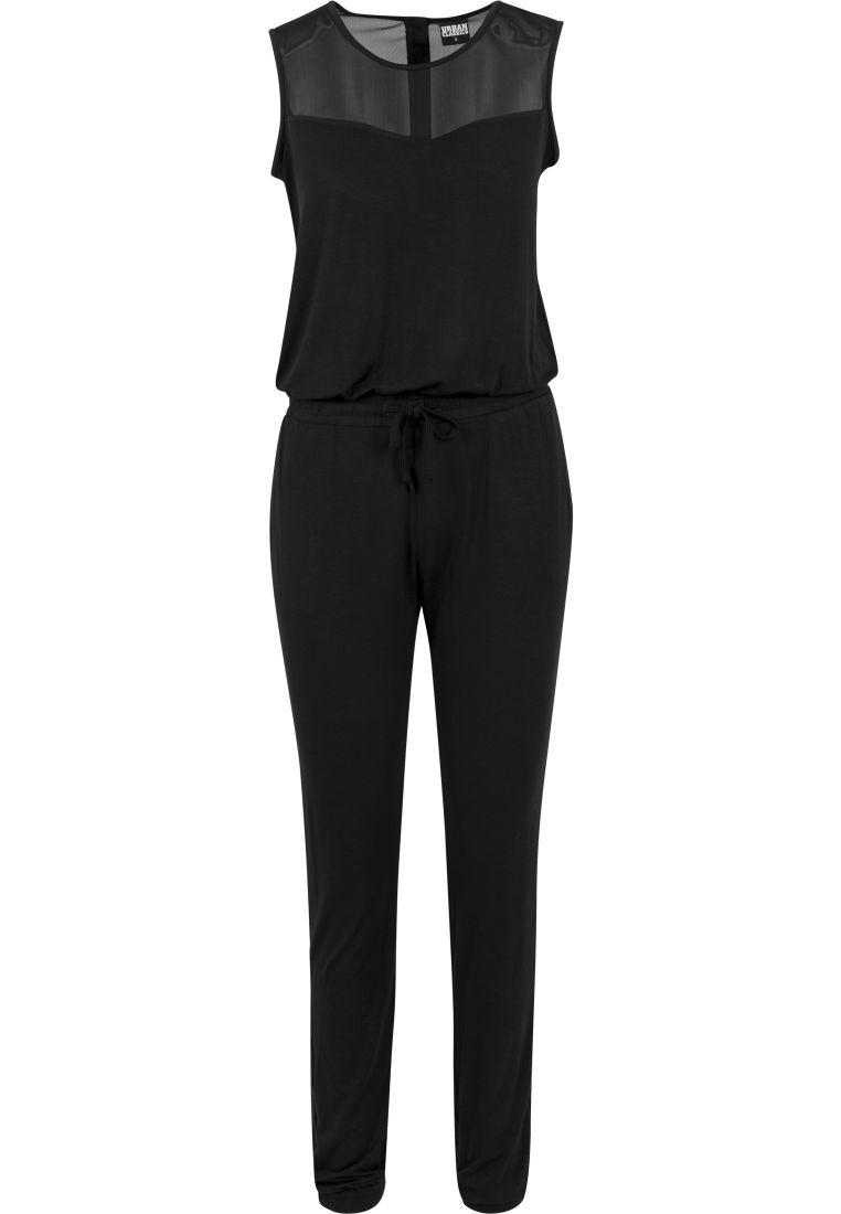 Ladies Tech Mesh Long Jumpsuit - ASUT - TTUTB1630 - 1