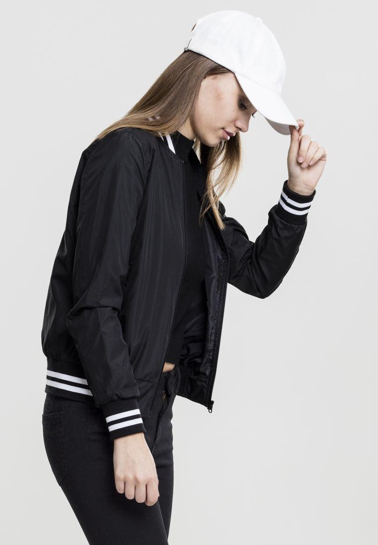 Ladies Nylon College Jacket