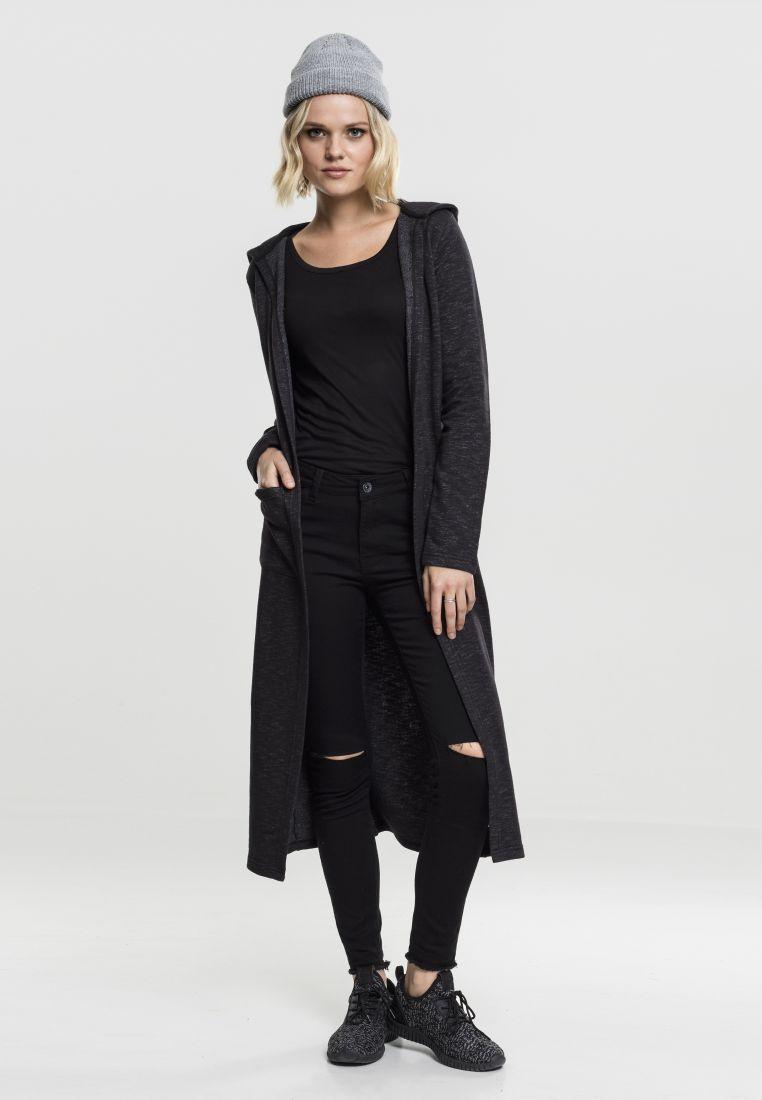 Ladies Space Dye Hooded Cardigan - NEULEET - TTUTB1720 - 1