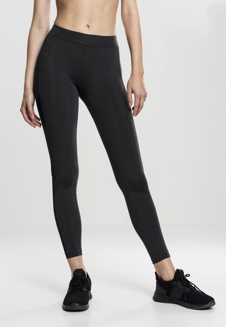 Ladies Tech Mesh Stripe Leggings