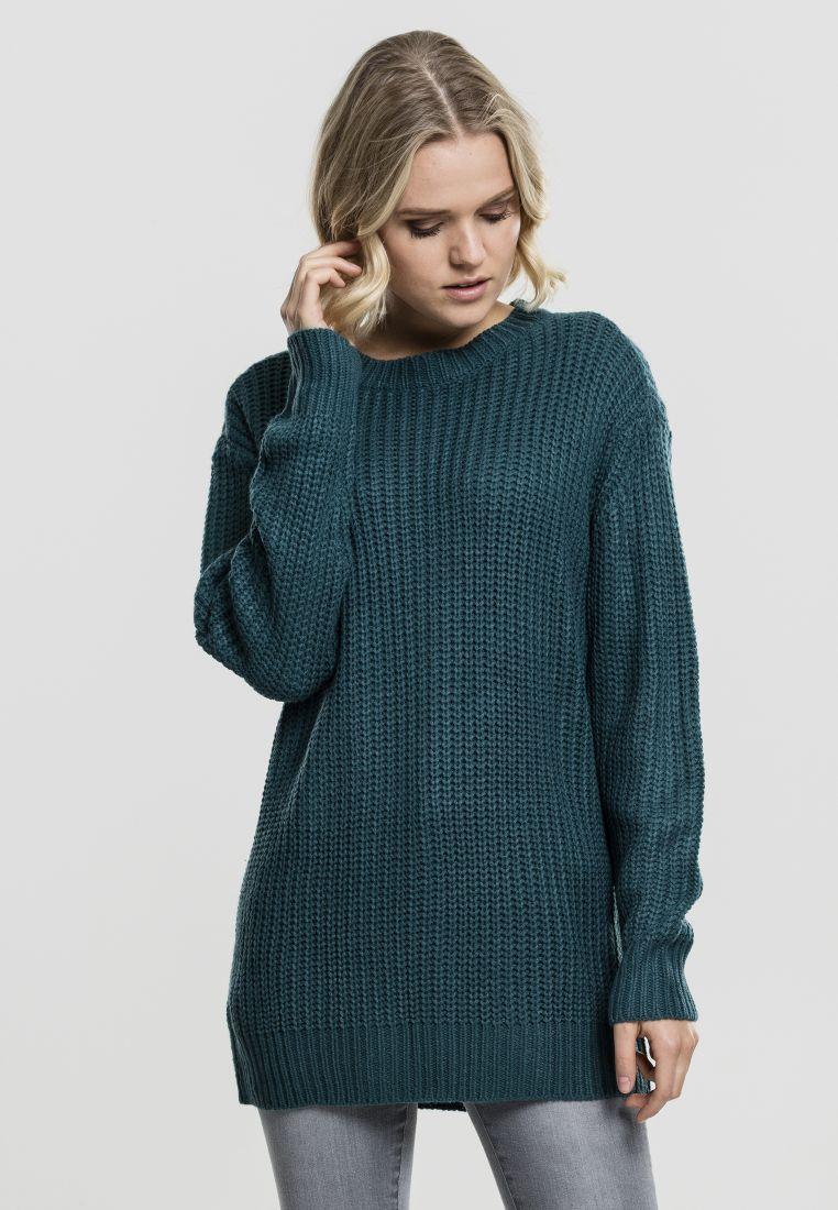 Ladies Basic Crew Sweater - COLLEGE PAIDAT - TTUTB1745 - 1