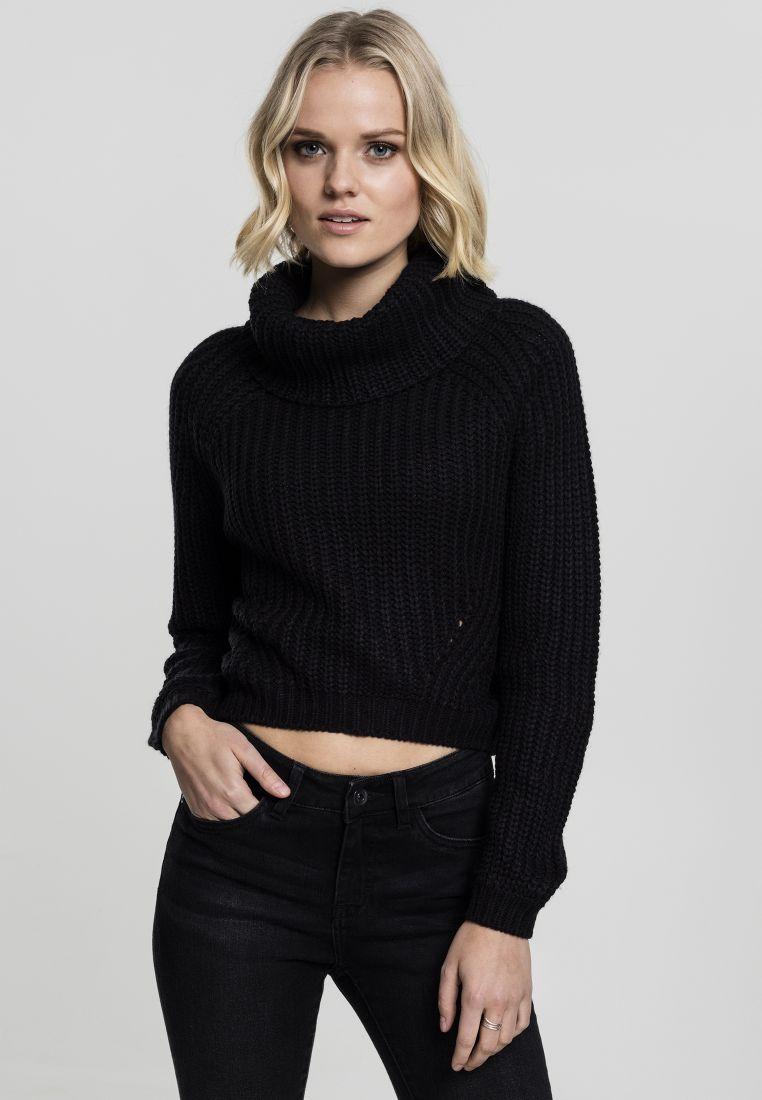 Ladies Short Turtleneck Sweater - COLLEGE PAIDAT - TTUTB1748 - 1