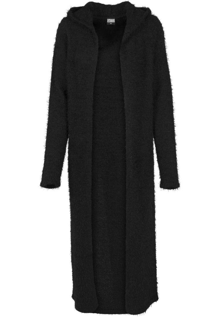 Ladies Hooded Feather Cardigan - NEULEET - TTUTB1750 - 1