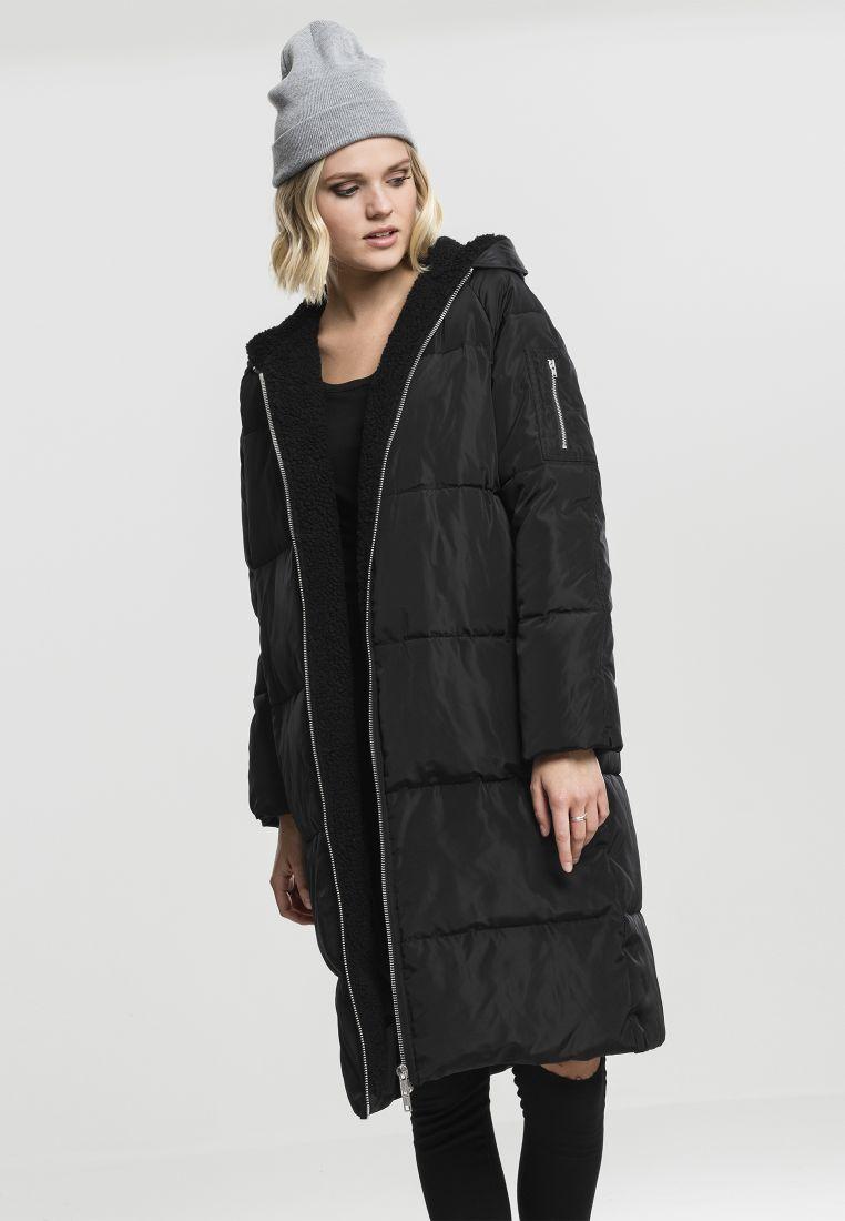 Ladies Oversized Hooded Puffer Coat