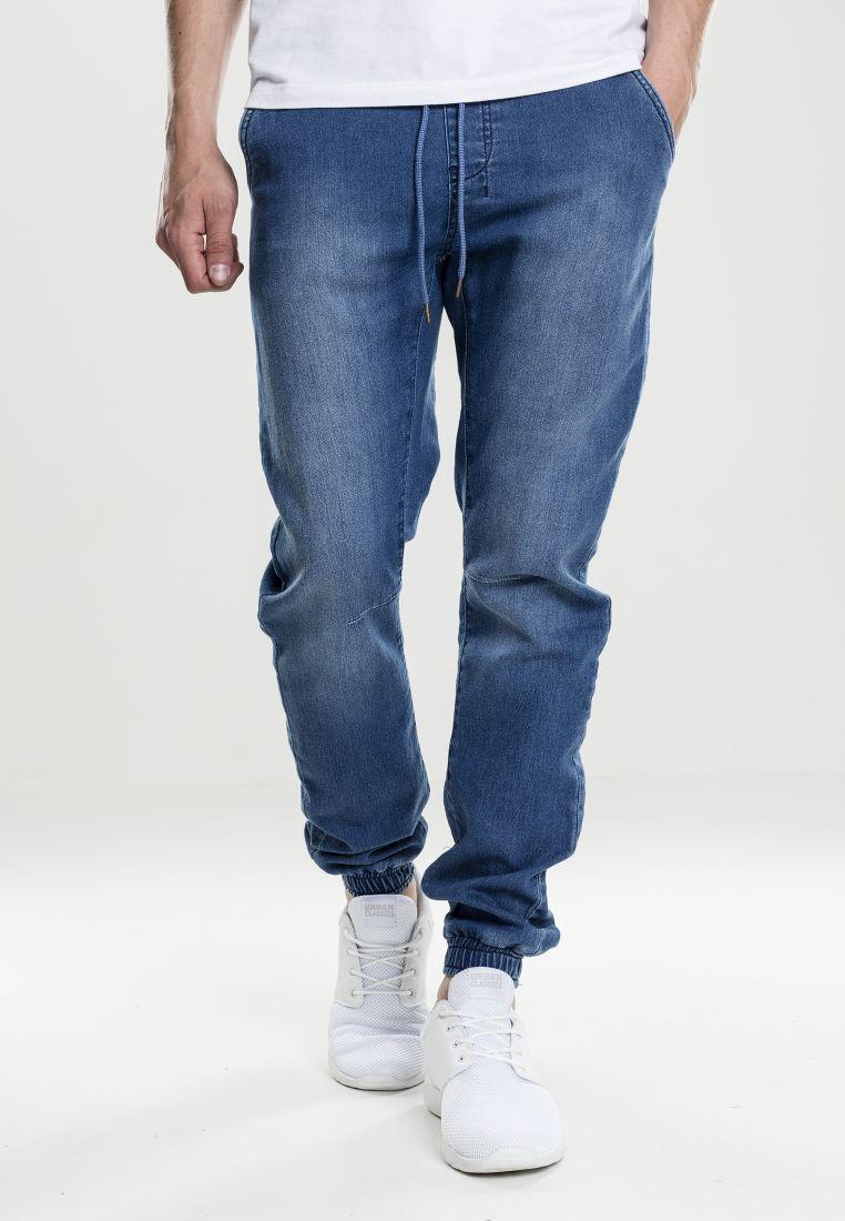 Knitted Denim Jogpants - TILAUSTUOTTEET - TTUTB1794 - 1