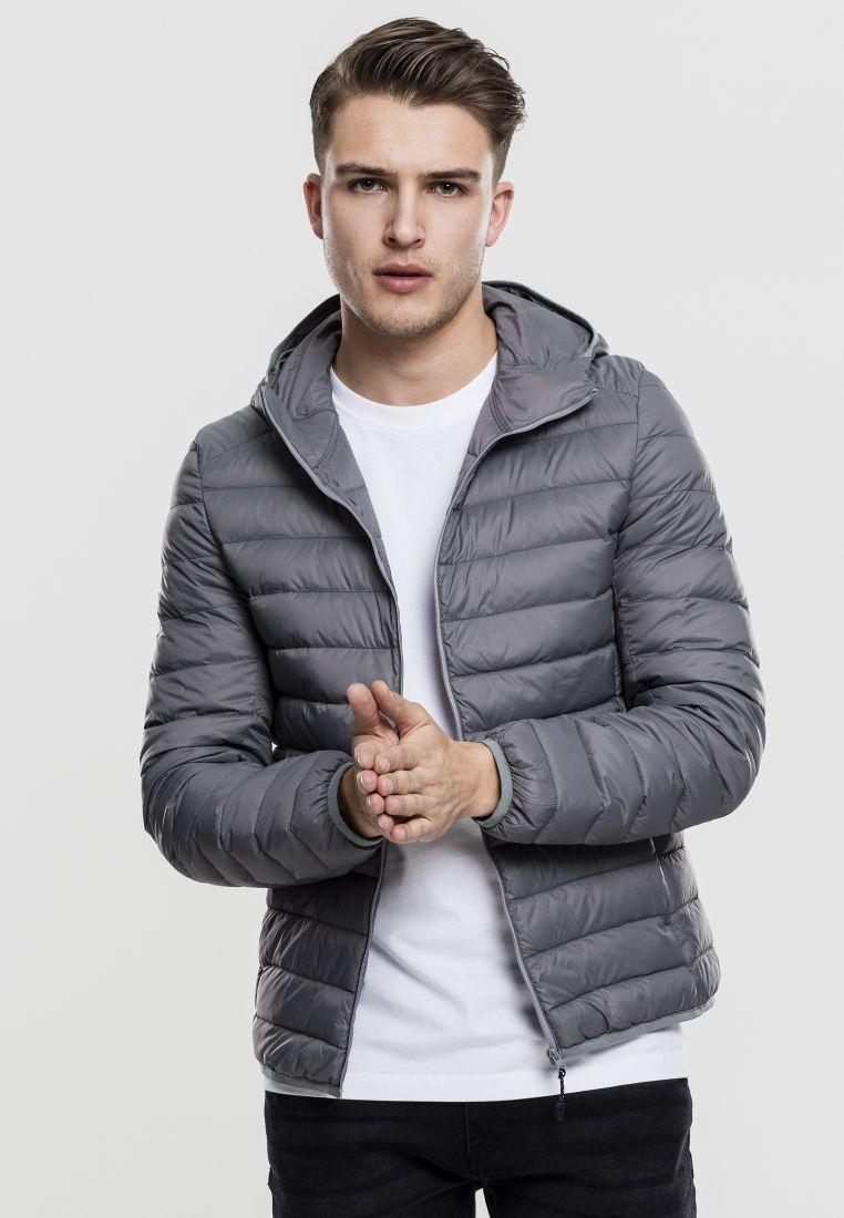 Basic Hooded Down Jacket