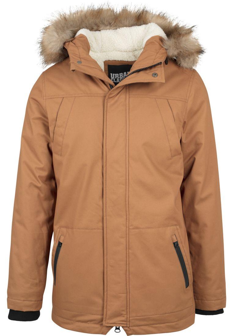 Heavy Cotton Imitation Fur Parka - TALVITAKIT - TTUTB1814 - 1