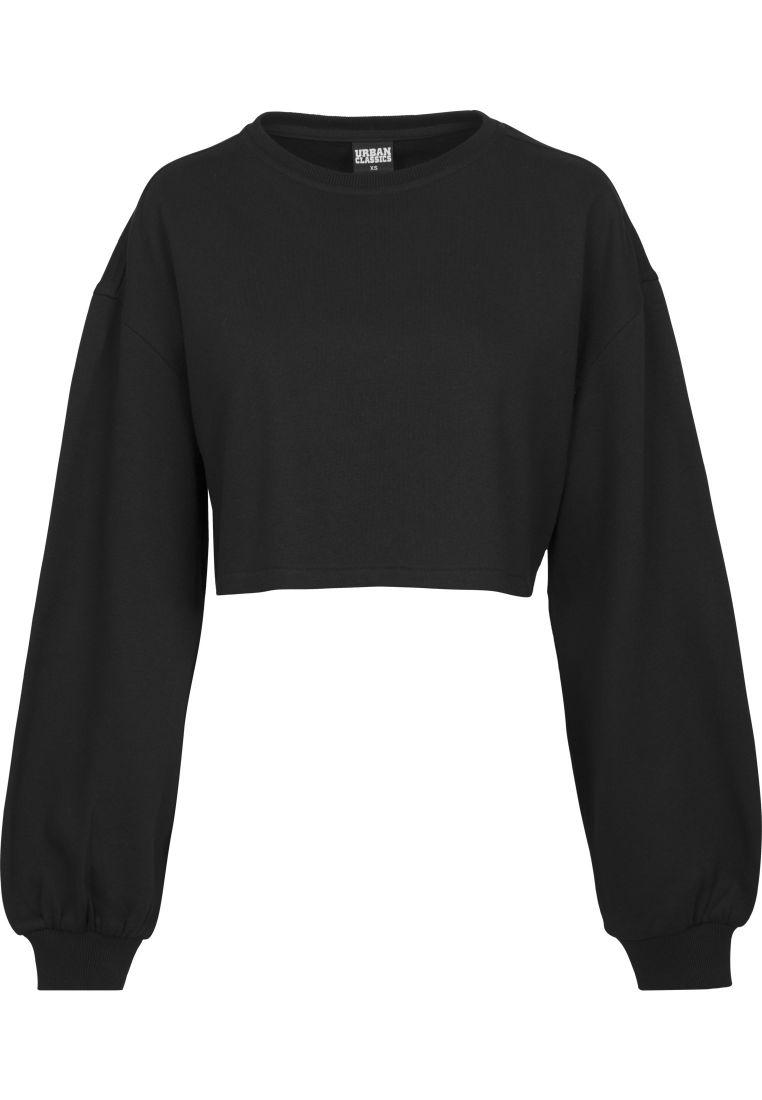 Ladies Oversized Short Crewneck - COLLEGE PAIDAT - TTUTB1846 - 1