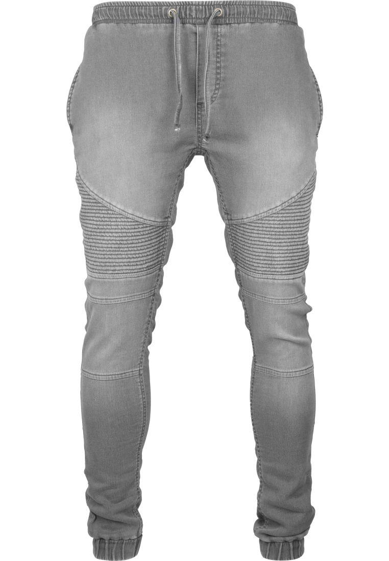 Biker Denim Joggpants - HOUSUT - TTUTB1877 - 14