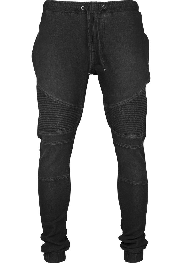 Biker Denim Joggpants - HOUSUT - TTUTB1877 - 24