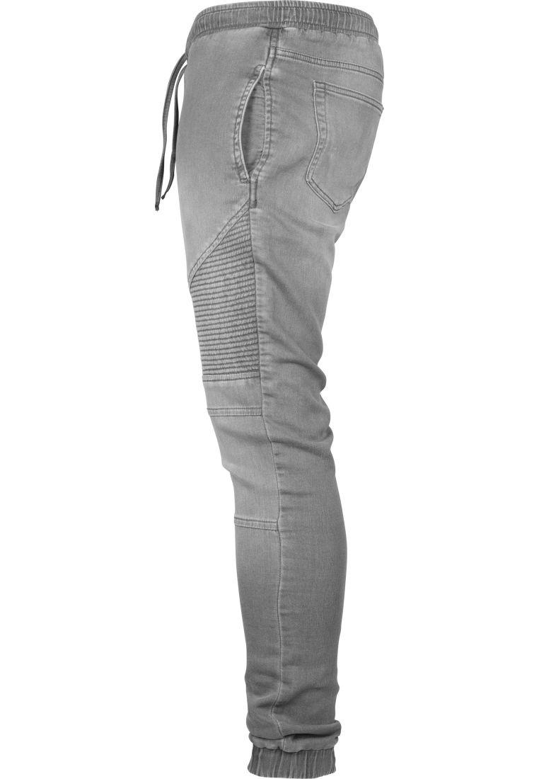 Biker Denim Joggpants - HOUSUT - TTUTB1877 - 15
