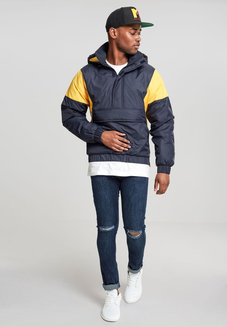 2-Tone Pull Over Jacket