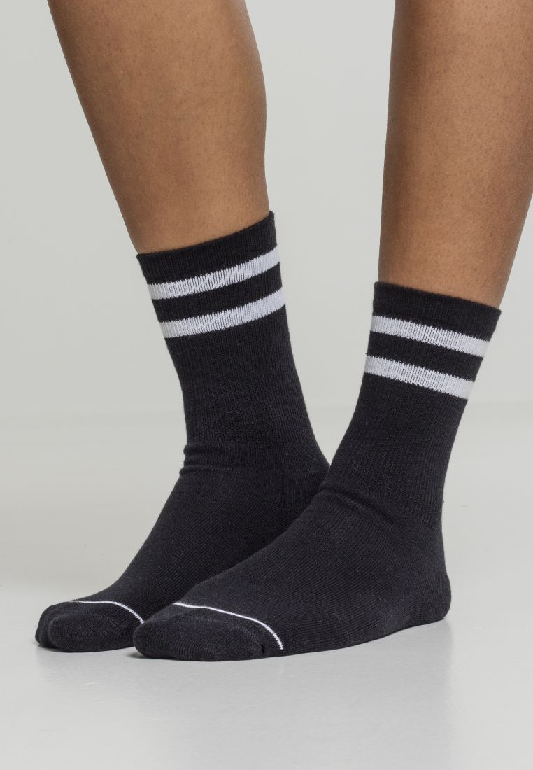 2-Tone College Socks 2-Pack