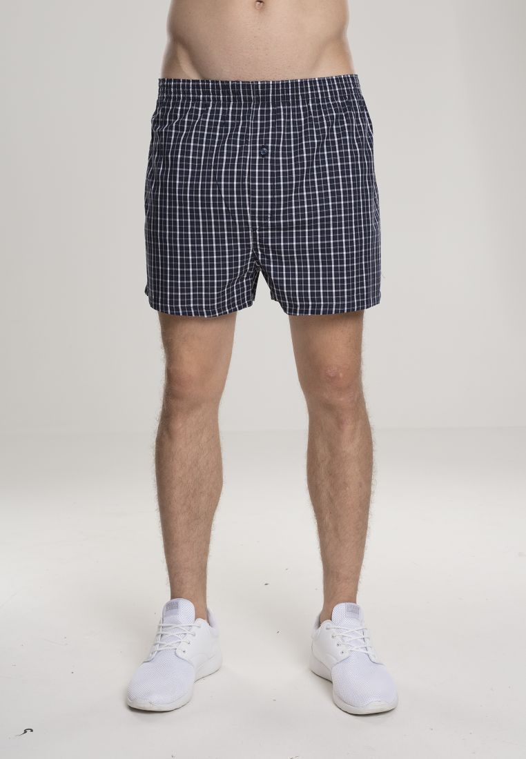3-Pack Checked Boxer Shorts