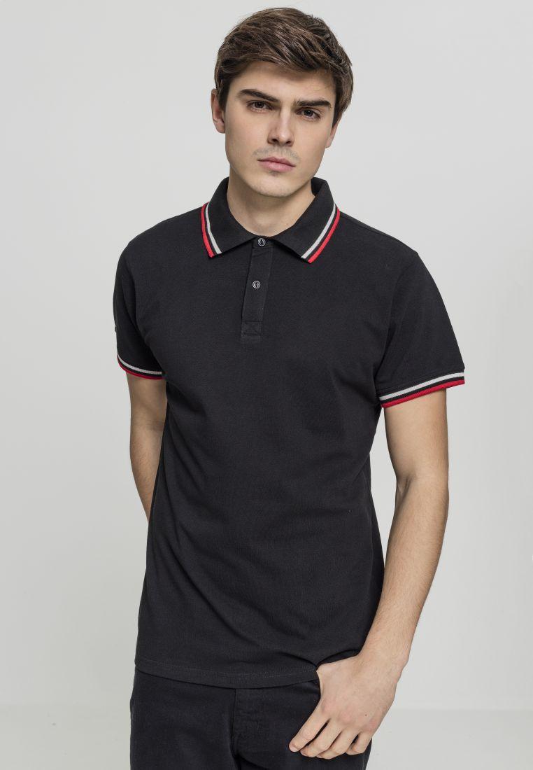 Double Stripe Poloshirt
