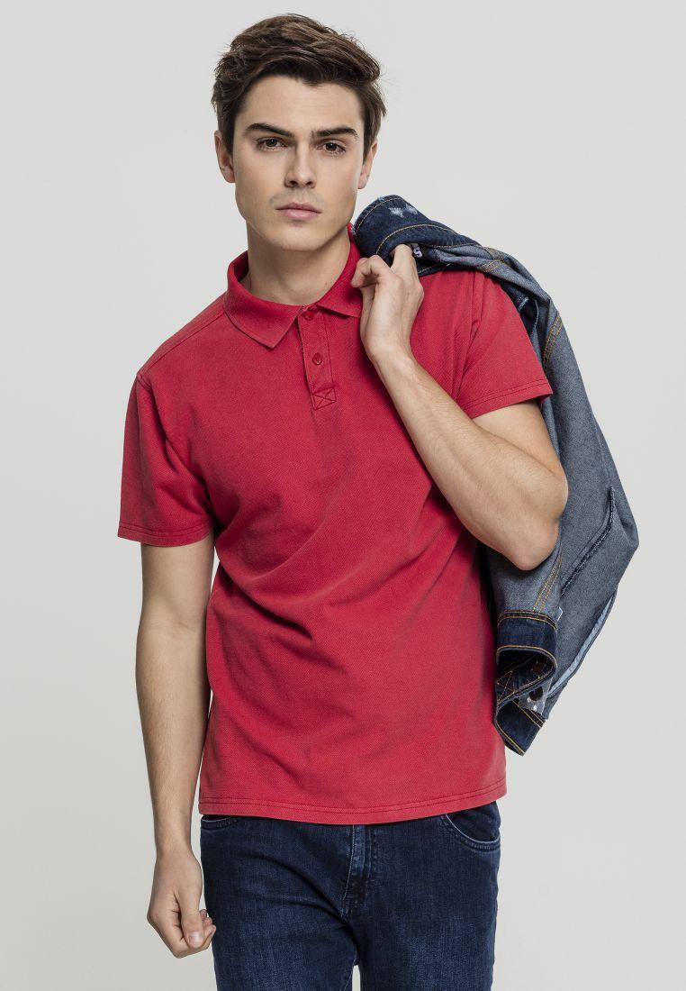 Garment Dye Pique Poloshirt