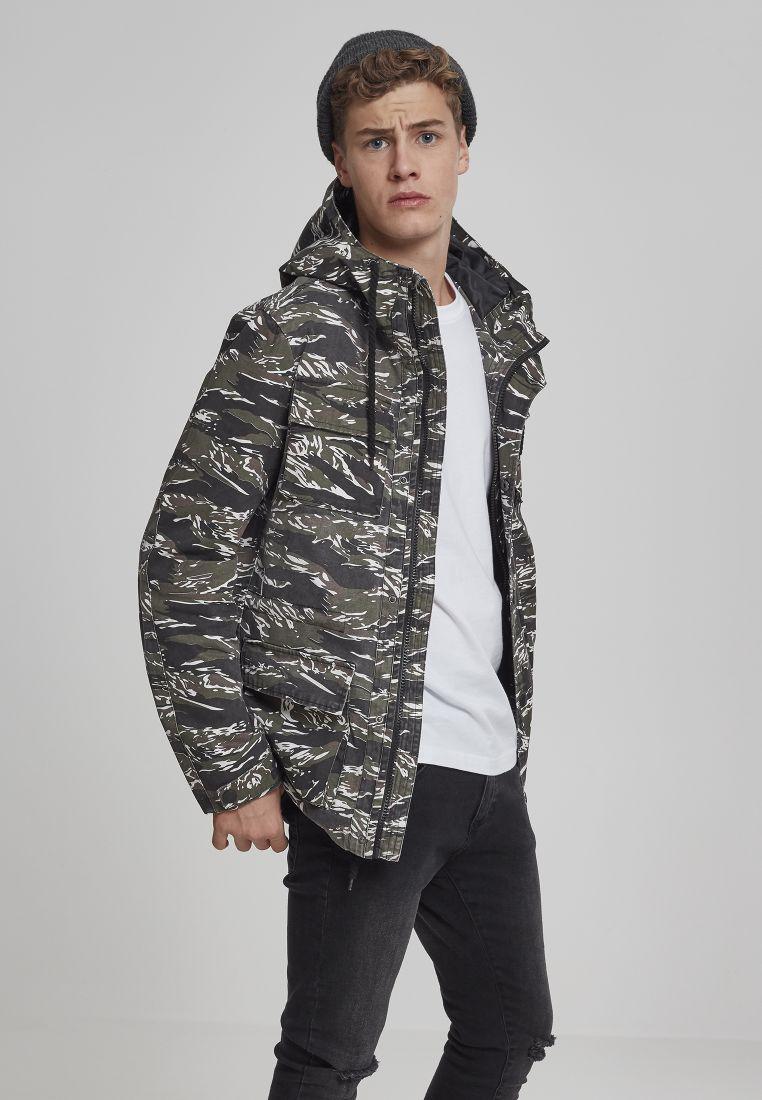 Tiger Camo Cotton Jacket