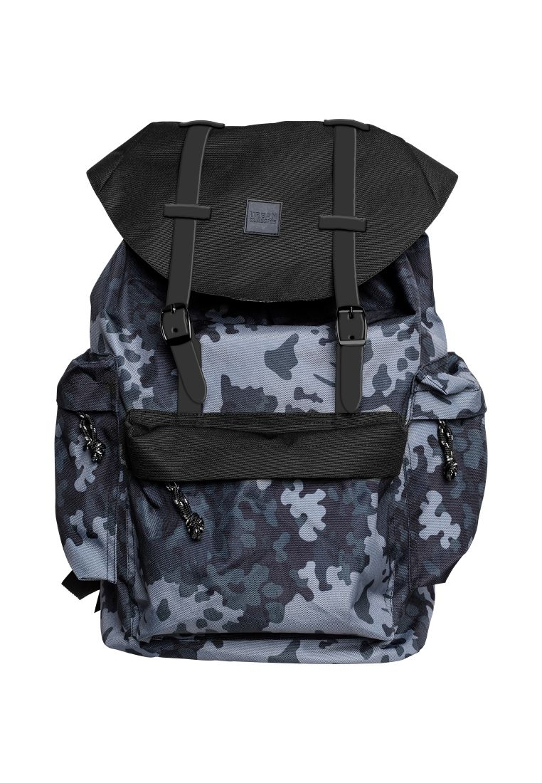 Camo Backpack With Multibags