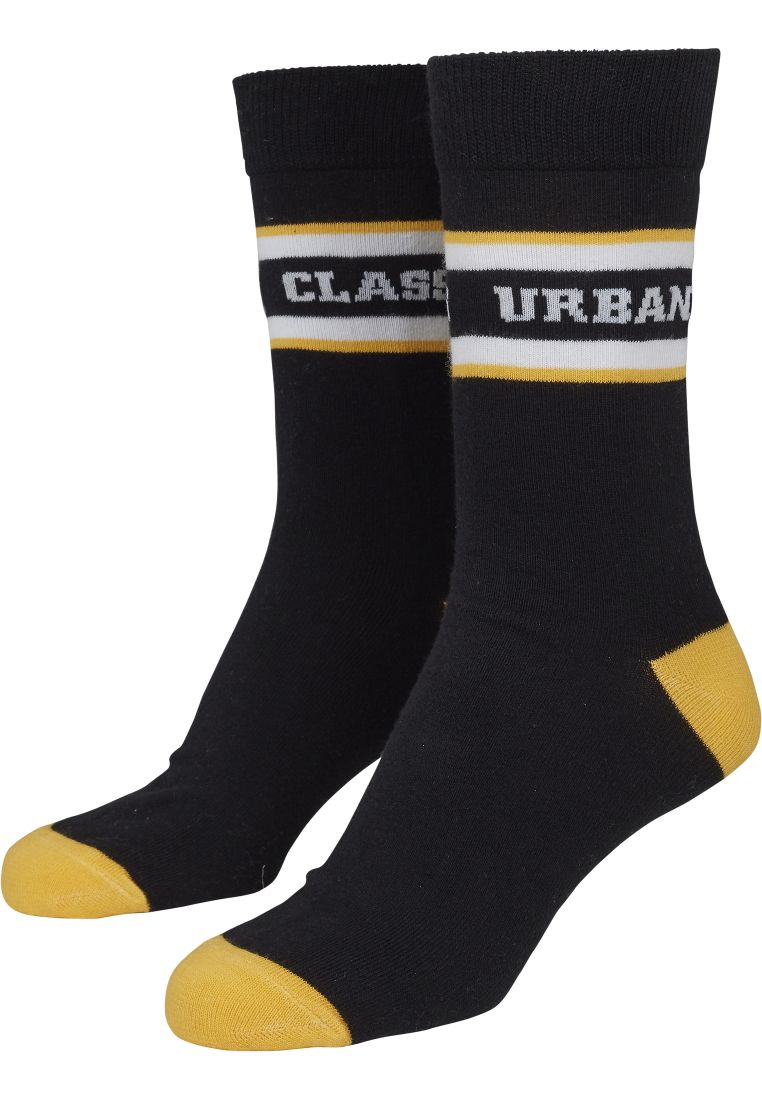 Logo Stripe Sport Socks 2-Pack