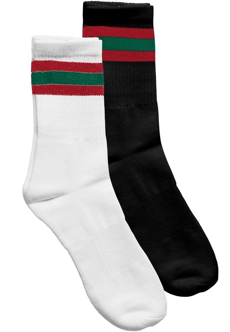Stripy Sport Socks 2-Pack