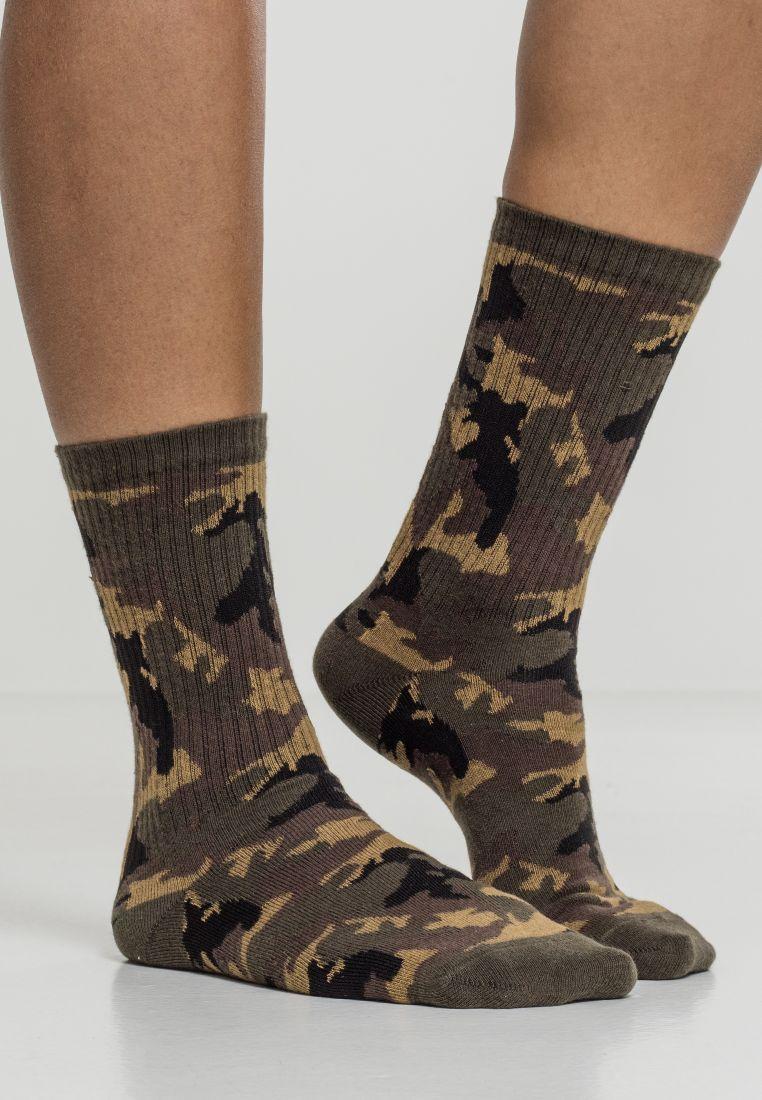 Camo Socks 2-Pack