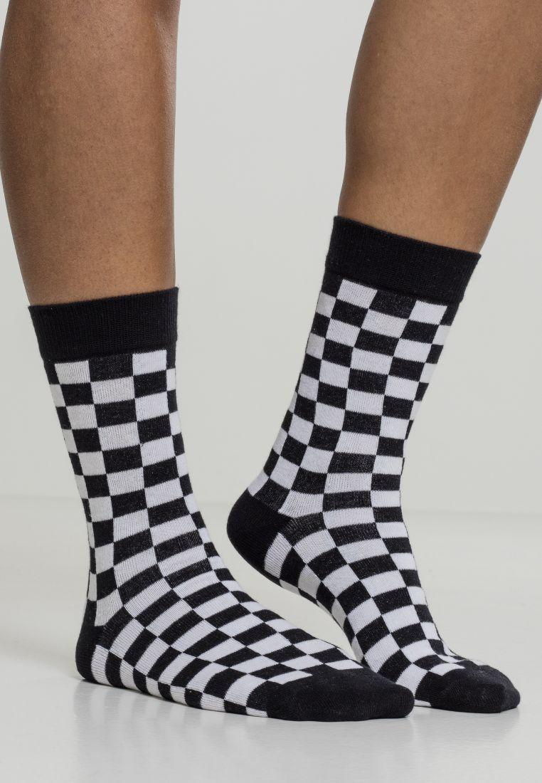 Checker Socks 2-Pack