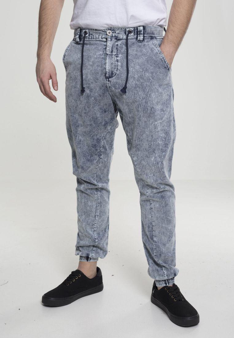 Acid Washed Corduroy Jog Pants - TILAUSTUOTTEET - TTUTB2416 - 1