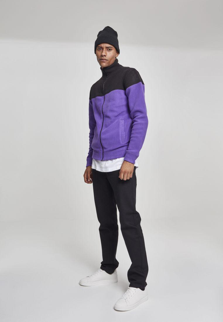 Oversize 2-Tone Polar Fleece Jacket - COLLEGE TAKIT - TTUTB2492 - 21 994c7b740c1
