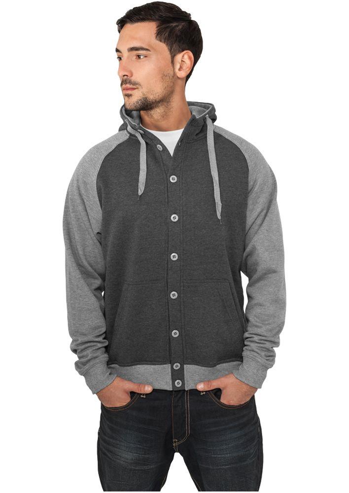 Light Fleece Button Hoody - TAKIT - TTUTB256 - 1